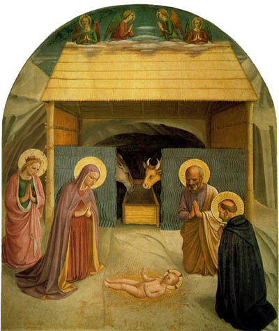 Nativity Fresco by Blessed Fra Angelico
